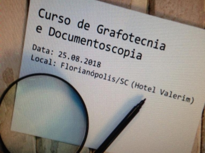 Curso de Grafotecnia e Documentoscopia